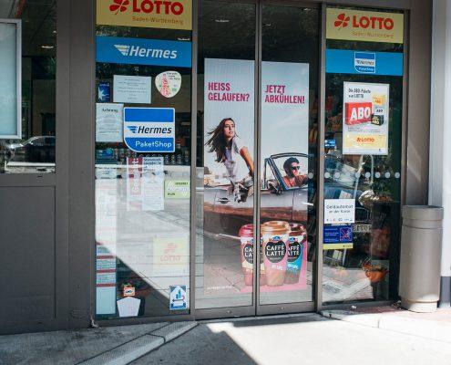 Doorgraphics bei Shell