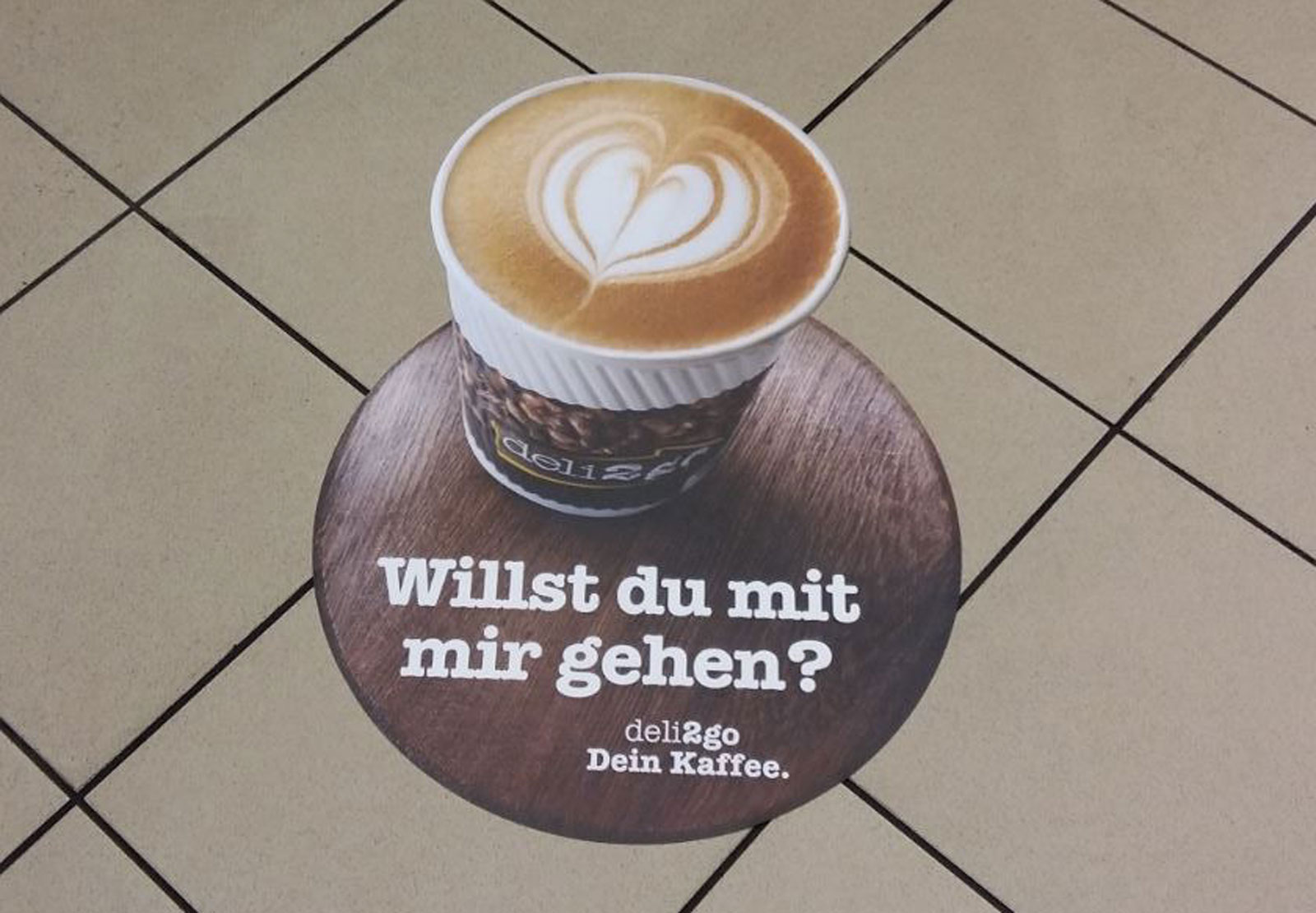 Shell Floorgraphics bei ISM