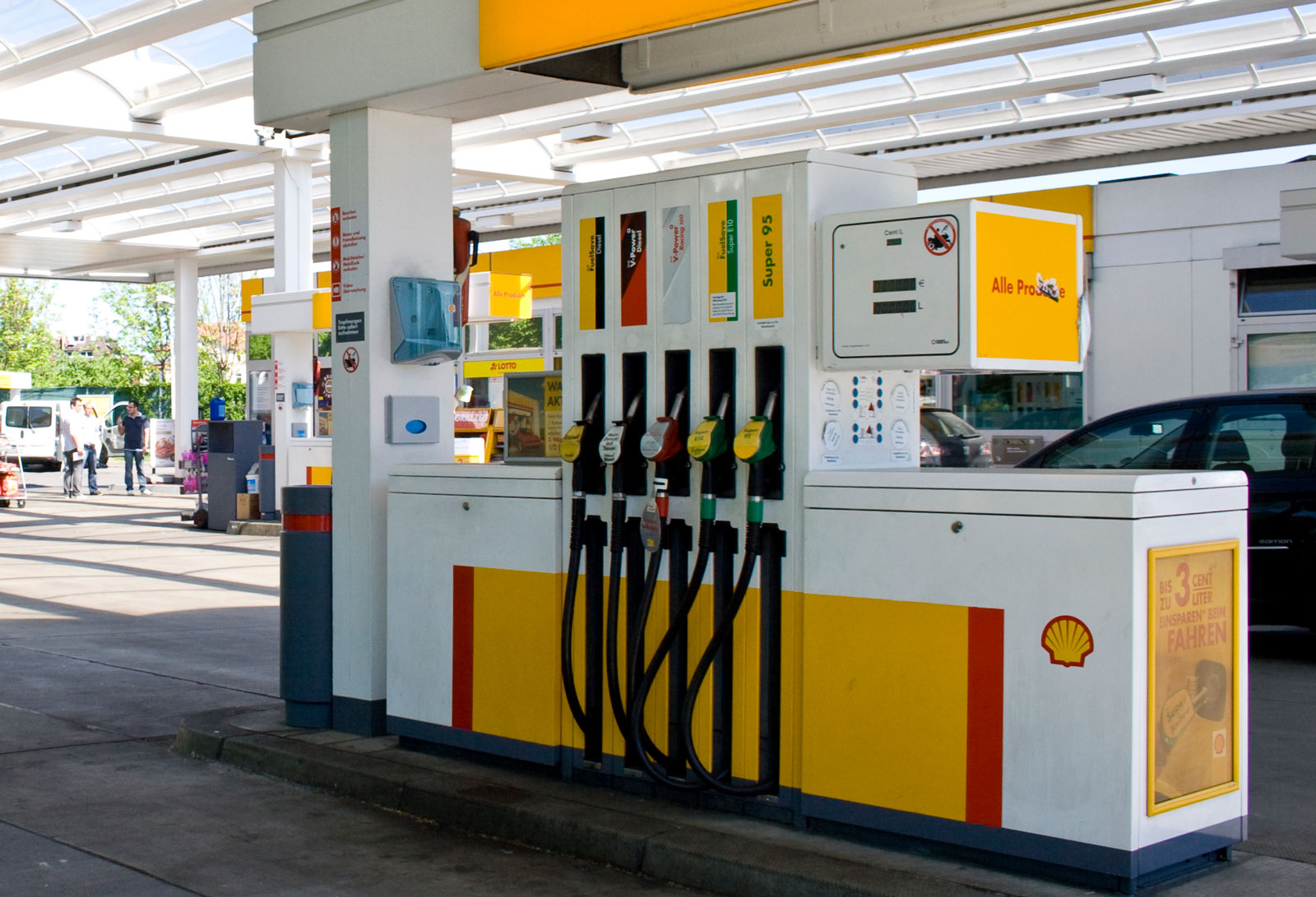 Shell Nozzle Ads bei ISM